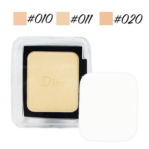Dior 迪奧 光柔恆色水潤精華粉餅 粉蕊 10g 多色可選 本產品為補充蕊,不含粉盒,有附原廠粉撲一片 #010 #011 #020 [QEM-girl]