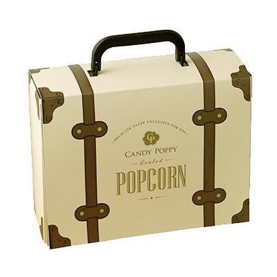 【Candy Poppy】裹糖爆米花甜蜜冒險家禮盒(經典原味80g+紅戀蔓越莓80g+黑金巧克力80g)