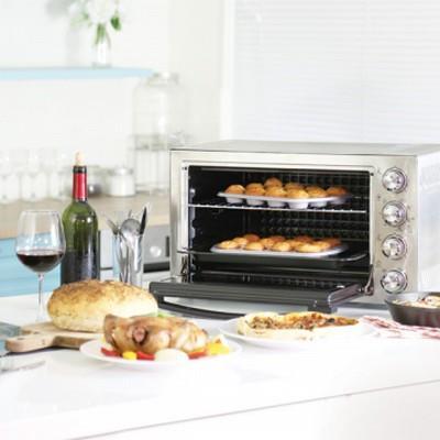 KAISER 威寶全功能不鏽鋼烤箱 36L烘焙 / 料理 / 烤雞首選 KHG-36