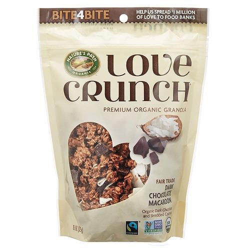 日本代購【LOVE CRUNCH】有機黑巧克力燕麥片