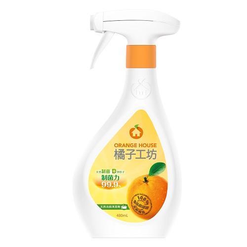 【橘子工坊】天然制菌活力浴廁清潔劑(480ml)
