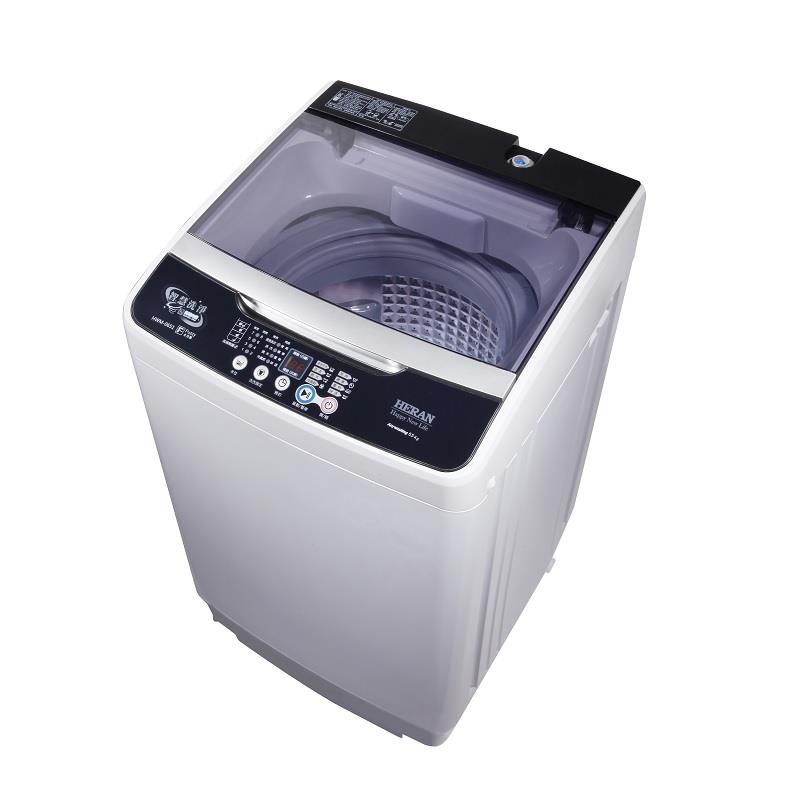 【HERAN禾聯】6.5公斤FUZZY人工智慧定頻洗衣機HWM-0651