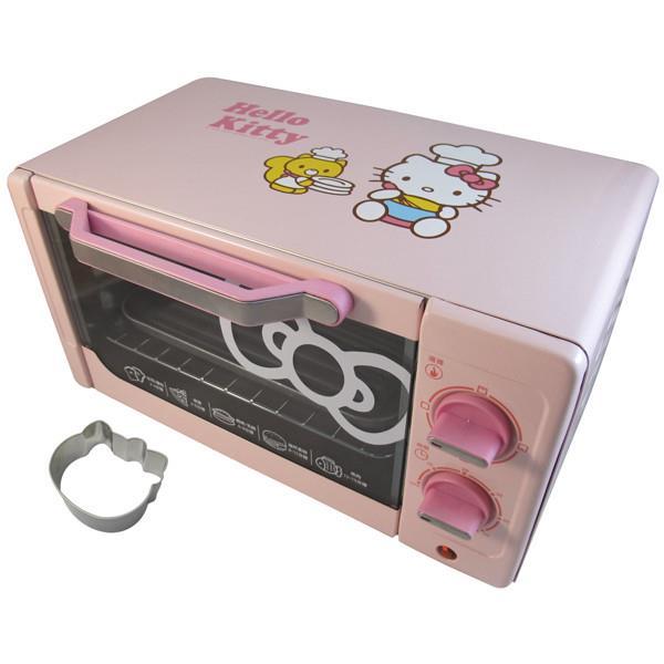 【Hello Kitty】電烤箱(含烤模)OT-522