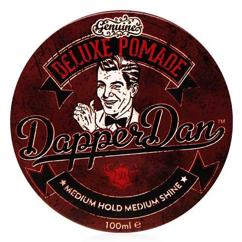 Dapper Dan 咖啡罐 英式髮油 100ml 高延展性、易沖洗不油膩 [QEM-girl]