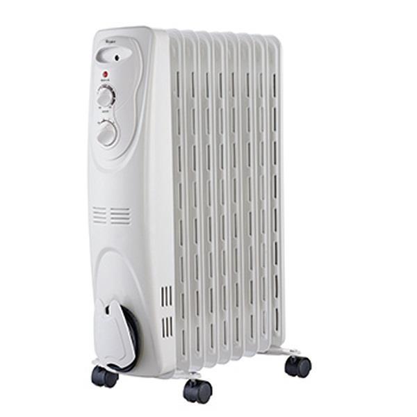 【Whirlpool】惠而浦 9片葉機械式葉片式 電暖器WORM09W