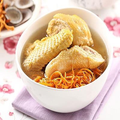 【愛上新鮮】蟲草靈芝御饌煲雞湯(半雞)4包(平均每包379元)
