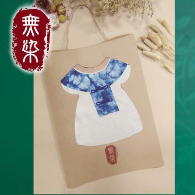 【MIT】無染藍染擦手巾禮盒