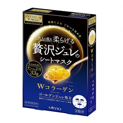 日本代購【第14名】PREMIUM PUReSA 黃金膠狀膠原蛋白面膜