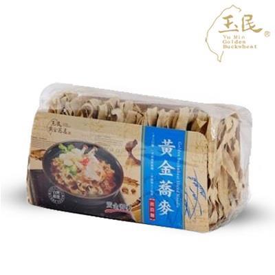 【玉民】玉民黃金蕎麥波浪麵 (450g*4包)