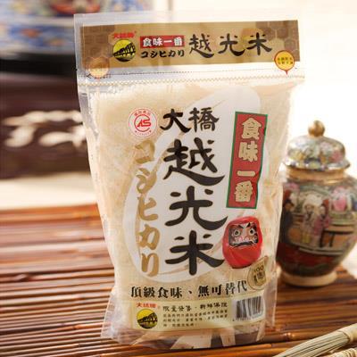 【大橋牌】大橋CAS頂級越光米(1.5kg)【2016精饌米獎非香米組優勝】