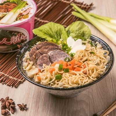 【埔里農會】美人腿水筍牛肉湯麵(12入/箱)
