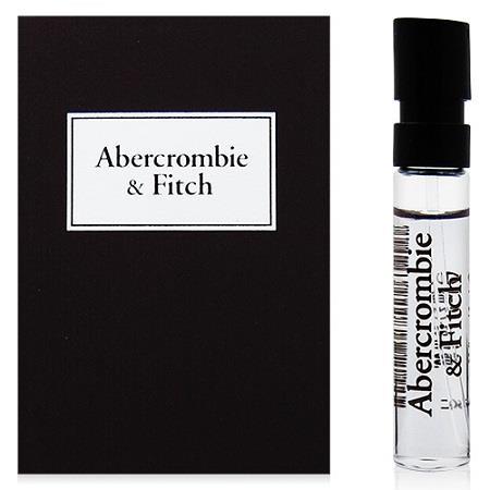 Abercrombie&Fitch AF同名經典男性淡香水針管2ml [QEM-girl]
