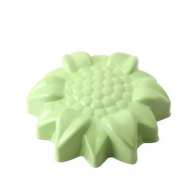 WOKY沃廚3.5吋 La Douceur 法式粉彩 花朵不沾蛋糕模 青蘋