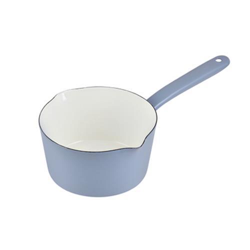 Pearl Life 日本刻度琺瑯牛奶鍋 Tiffany藍 15cm