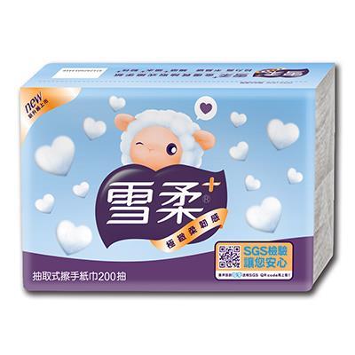 【雪柔】擦手紙(200抽x20包/箱)