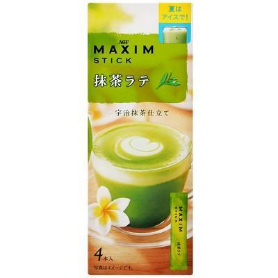 (即期優惠)【AGF】Maxim三合一抹茶拿鐵 (60g/盒)