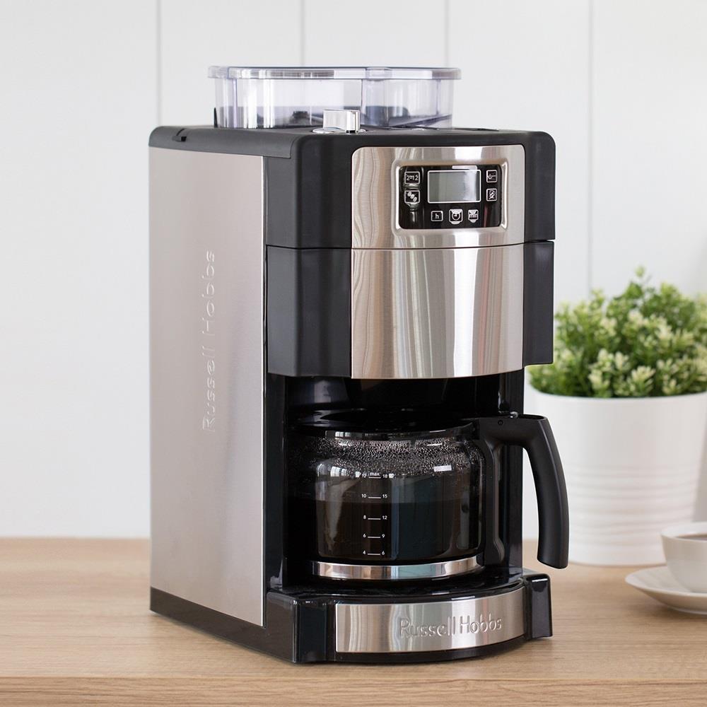 (限時快閃價) Russell Hobbs 英國羅素 全自動研磨咖啡機 20060-56TW