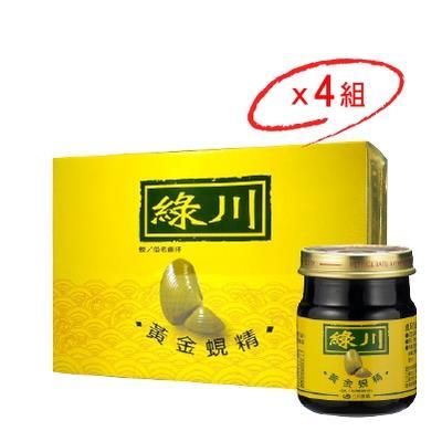 【綠川】黃金蜆精 (75ml *6罐/組)x4組