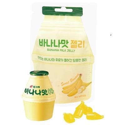 【KUMCHADO 】香蕉牛奶果凍軟糖45g/包 來自韓國最新爆紅軟糖同步販售