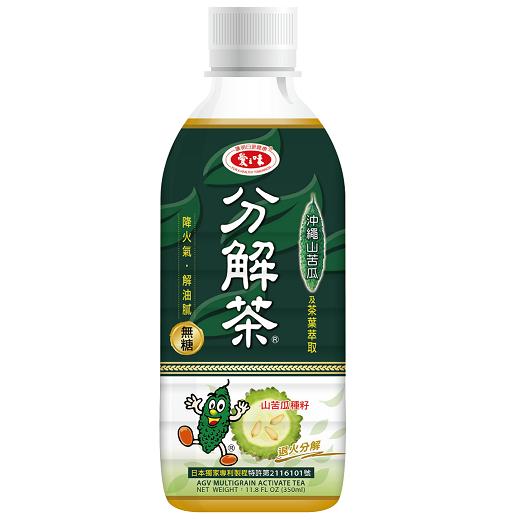 【愛之味】山苦瓜油切分解茶(350ml-24入/箱)
