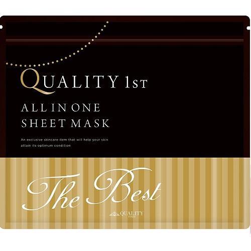 日本代購【Quality first mask】All in one 面膜(極致保濕款)