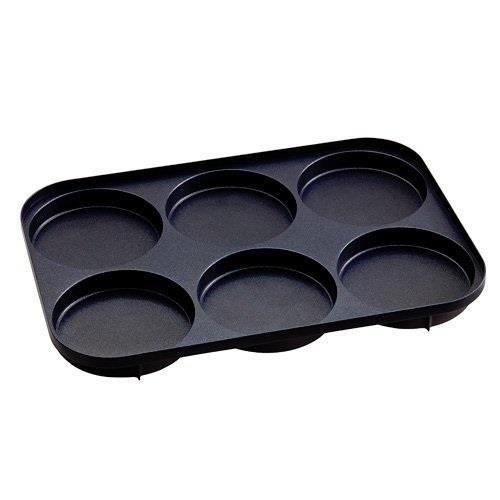 日本代購【BRUNO】多功能鑄鐵電烤鍋 專用6格燒烤盤
