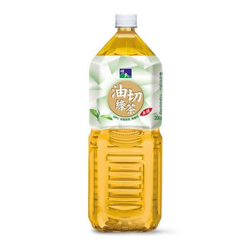 【悅氏】油切綠茶(2000ml)