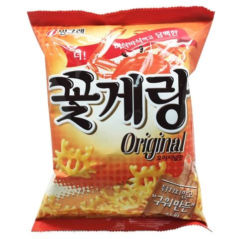【韓國Binggrae】螃蟹仔脆片-原味(70g/包)