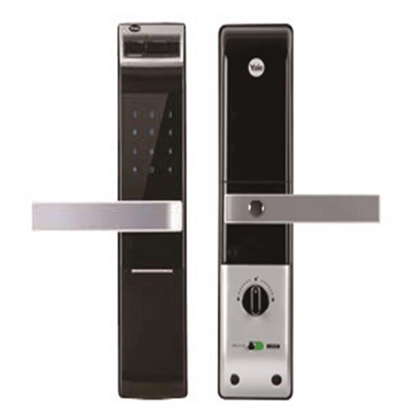 【Yale】指紋/密碼/鑰匙 電子鎖 YDM4109