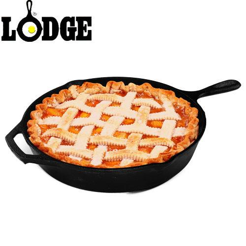 Lodge 美國原裝 鑄鐵平底煎鍋 10吋 (25cm) 荷蘭鍋/可進烤箱/不挑鍋