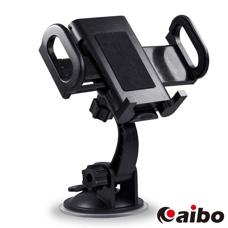 【aibo】GH028 多功能平板手機吸盤車架