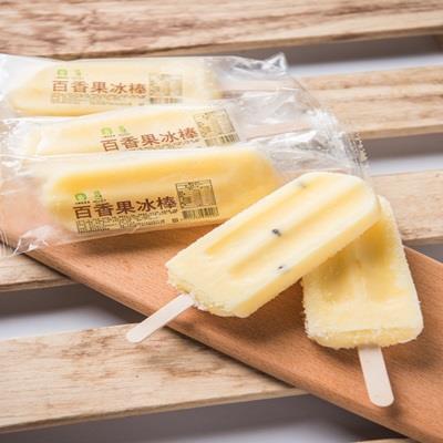 【冷凍店取-大樹區農會姑山冰城】百香果冰棒(85g*6入/盒)
