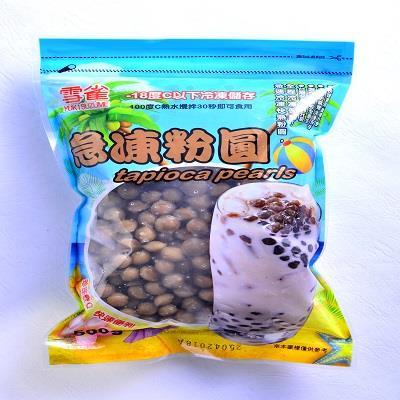 【冷凍店取-雪雀】急速冷凍快熟粉圓-咖啡色(500g)