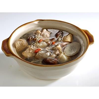 【冷凍店取-安心巧廚】元氣燉雞堂-竹笙香菇雞湯(450g/包)