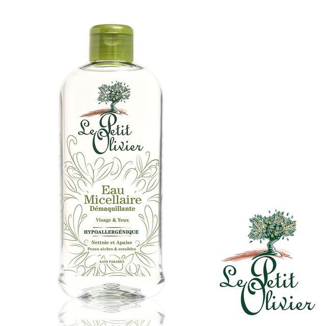 【法國小橄欖樹Le Petit Olivier】橄欖油三合一溫和保濕卸妝液  (400ml)