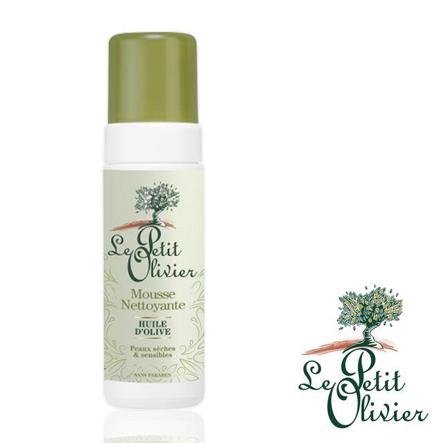 【法國小橄欖樹Le Petit Olivier】橄欖油泡沫潔顏慕斯 (150ml)