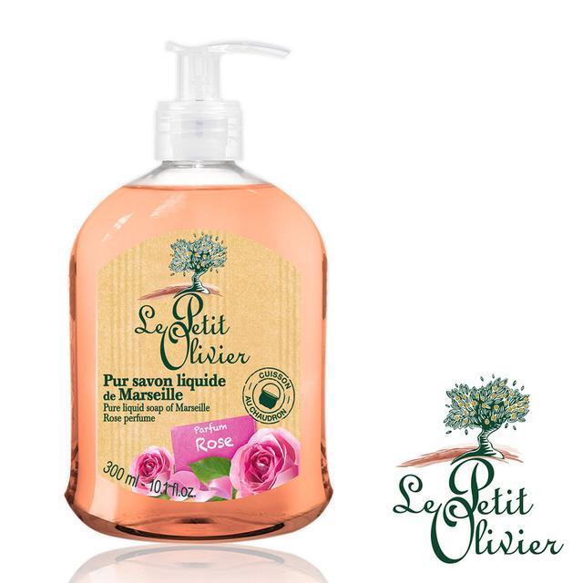 【法國小橄欖樹Le Petit Olivier】清新草本洗手露 (玫瑰/300ml)