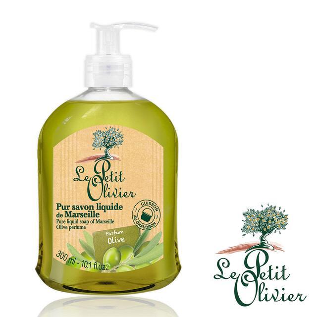 【法國小橄欖樹Le Petit Olivier】清新草本洗手露 (橄欖油/ 300ml)