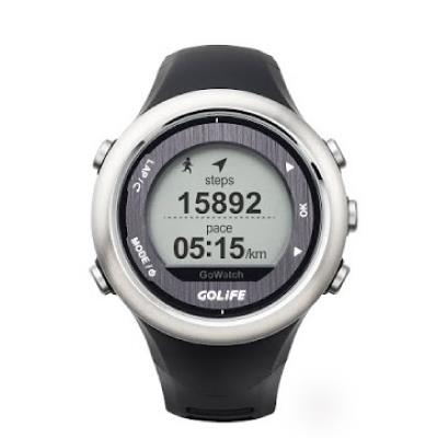 【PAPAGO】藍芽三鐵運動腕錶GoWatch 820i(髮絲銀)