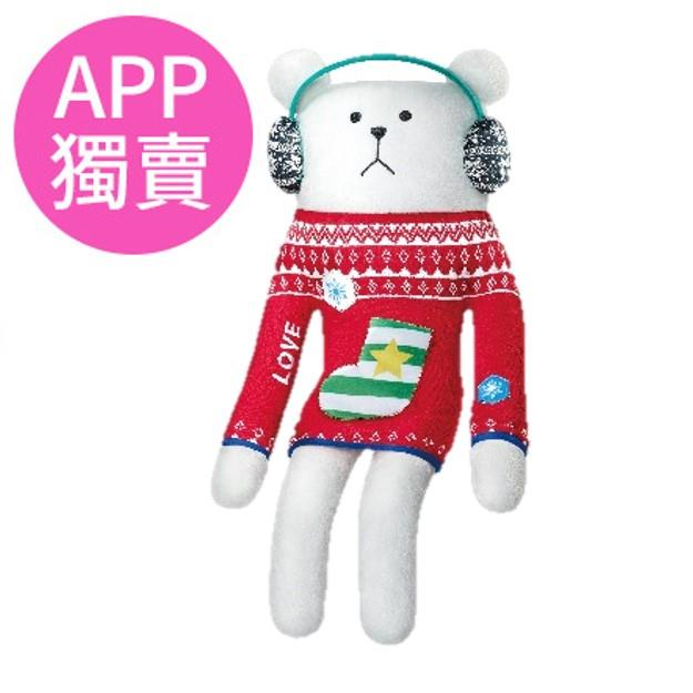 【CRAFTHOLIC宇宙人】超大抱枕-耳罩熊
