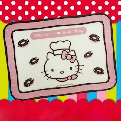 Siliconezone施理康 Hello Kitty矽膠餅乾小烤箱墊