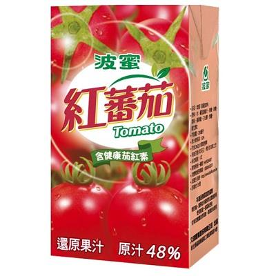 波蜜紅番茄汁250ml*6包/組