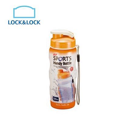 【LOCK&LOCK】樂扣樂扣PP水壺500ML/橘