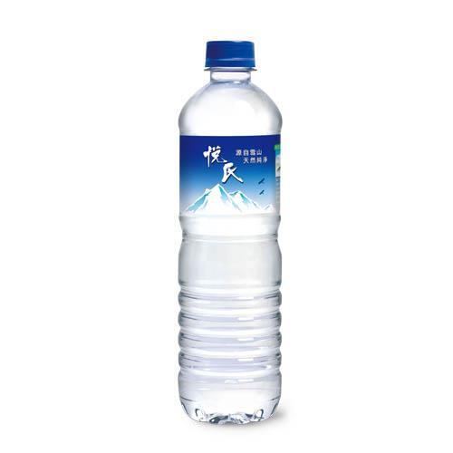 【悅氏】礦泉水(600ml-24瓶/箱)