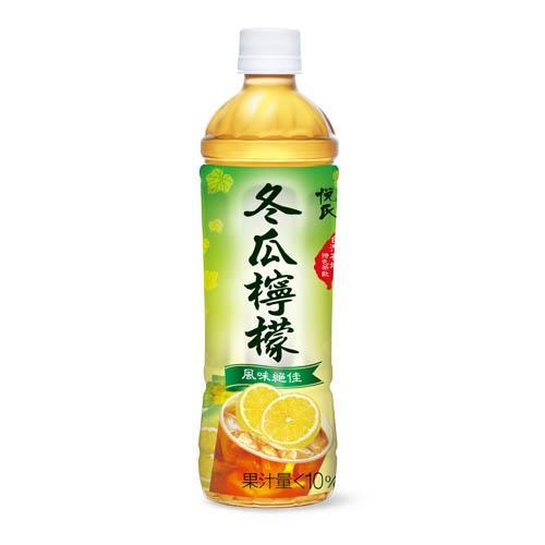 【悅氏】冬瓜檸檬(550ml-4瓶/組)