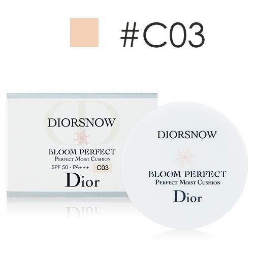 Dior迪奧 雪晶靈光感氣墊粉餅4g #C03體驗版 [QEM-girl]