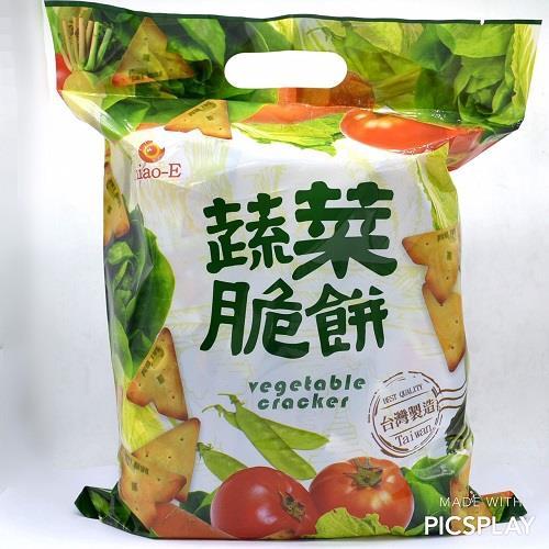 【巧益】三角蔬菜脆餅(240G)
