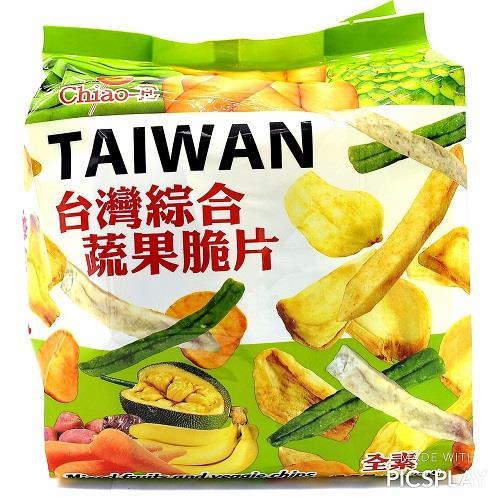 【巧益】台灣綜合蔬果脆片(80G)