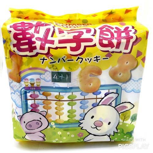 【巧益】原味數字餅(160G)