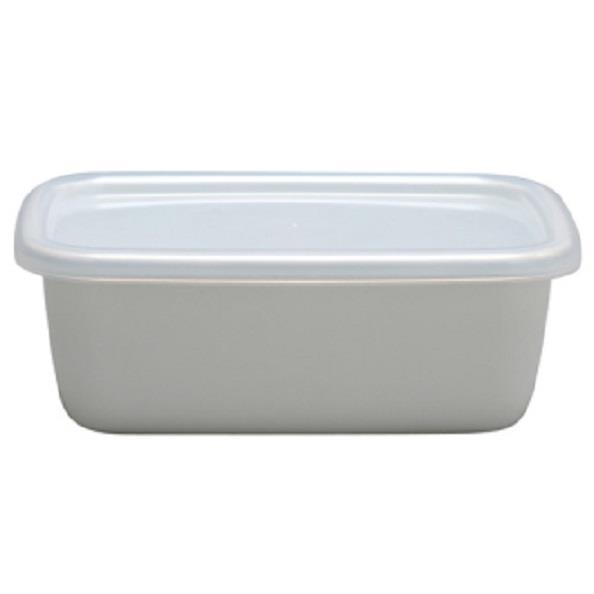 野田琺瑯 長方型附蓋儲物罐(小型)